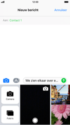 Apple iPhone 6s - iOS 11 - MMS - hoe te versturen - Stap 10