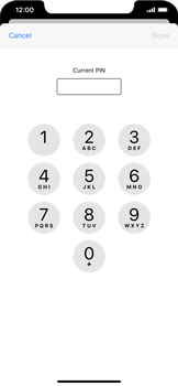 Apple iPhone 11 - Security - Set the PIN code for your SIM card - Step 6