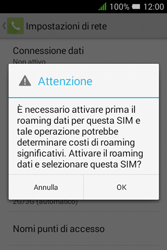 Alcatel Pixi 3 (3.5) - Internet e roaming dati - Come verificare se la connessione dati è abilitata - Fase 8