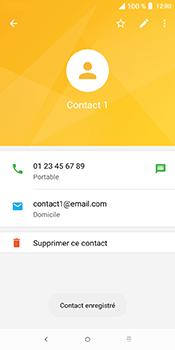 Alcatel 3L - Contact, Appels, SMS/MMS - Ajouter un contact - Étape 10
