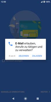 Sony Xperia XZ2 - Android Pie - E-Mail - Konto einrichten (outlook) - Schritt 13
