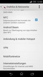Sony Xperia E3 - Netzwerk - Netzwerkeinstellungen ändern - 5 / 8
