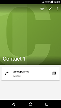 Sony Xperia XA1 Ultra - Contact, Appels, SMS/MMS - Ajouter un contact - Étape 12