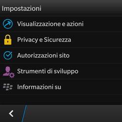 BlackBerry Q10 - Internet e roaming dati - Configurazione manuale - Fase 15