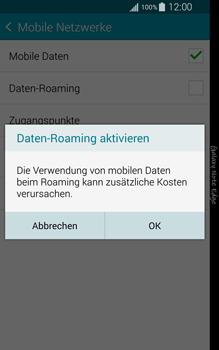 Samsung Galaxy Note Edge - Ausland - Im Ausland surfen – Datenroaming - 9 / 12