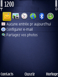 Nokia N86 - Internet - Navigation sur Internet - Étape 1