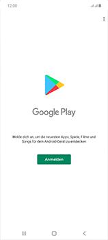 Samsung Galaxy Note 20 5G - Apps - Einrichten des App Stores - Schritt 4