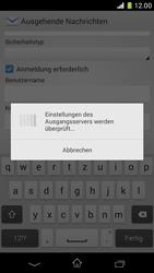 Sony Xperia Z1 Compact - E-Mail - Konto einrichten - 0 / 0