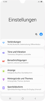 Samsung Galaxy A70 - WiFi - So aktivieren Sie einen WLAN-Hotspot - Schritt 4
