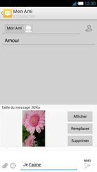 Bouygues Telecom Ultym 4 - Contact, Appels, SMS/MMS - Envoyer un MMS - Étape 17