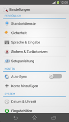 Sony Xperia Z1 Compact - Fehlerbehebung - Handy zurücksetzen - 6 / 11