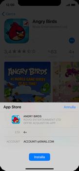 Apple iPhone X - Applicazioni - Installazione delle applicazioni - Fase 13