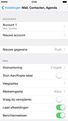 Apple iPhone 6 (Model A1586) - E-mail - Instellingen KPNMail controleren - Stap 5