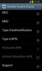 Samsung I9105P Galaxy S II Plus - Internet - configuration manuelle - Étape 13