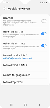 Samsung Galaxy A20e - internet - activeer 4G Internet - stap 8