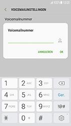 Samsung Galaxy J3 (2017) - voicemail - handmatig instellen - stap 8