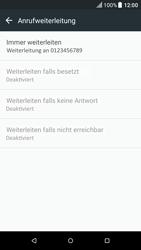 HTC One A9 - Android Nougat - Anrufe - Rufumleitungen setzen und löschen - Schritt 8