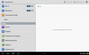 Samsung Galaxy Tab 2 10.1 - Rete - Selezione manuale della rete - Fase 4