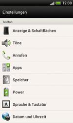 HTC Desire X - Gerät - Zurücksetzen auf die Werkseinstellungen - Schritt 4