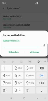 Samsung Galaxy S10 - Anrufe - Rufumleitungen setzen und löschen - 13 / 15