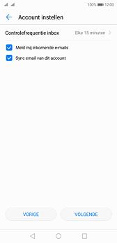 Huawei P20 Dual-SIM (Model EML-L29) - E-mail - Account instellen (POP3 zonder SMTP-verificatie) - Stap 17