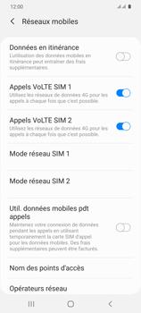 Samsung Galaxy S20 5G - Réseau - Sélection manuelle du réseau - Étape 6