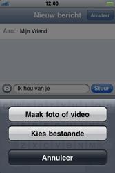 Apple iPhone 4 - MMS - afbeeldingen verzenden - Stap 7