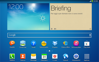 Samsung Galaxy Tab 3 10-1 LTE - Internet e roaming dati - Uso di Internet - Fase 1