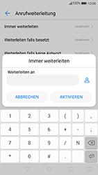 Huawei P10 - Anrufe - Rufumleitungen setzen und löschen - 7 / 9