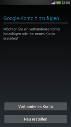 HTC Desire 601 - Apps - Konto anlegen und einrichten - 0 / 0