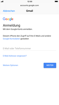 Apple iPhone 7 Plus iOS 11 - E-Mail - Konto einrichten (gmail) - Schritt 6