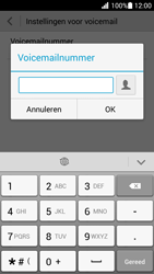 Huawei Ascend G630 - voicemail - handmatig instellen - stap 8