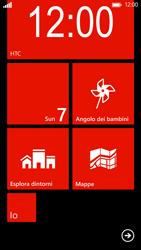 HTC Windows Phone 8X - Operazioni iniziali - Personalizzazione della schermata iniziale - Fase 10
