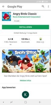 Samsung Galaxy S8 Plus - Android Oreo - Apps - Installieren von Apps - Schritt 15