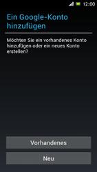 Sony Xperia J - Apps - Konto anlegen und einrichten - 0 / 0