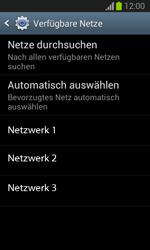 Samsung Galaxy Trend Lite - Netzwerk - Manuelle Netzwerkwahl - Schritt 8