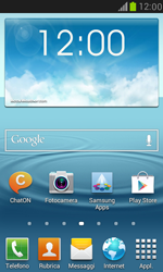 Samsung Galaxy S III Mini - Internet e roaming dati - Disattivazione del roaming dati - Fase 1