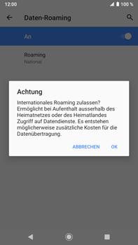 Sony Xperia XZ2 Premium - Android Pie - Ausland - Im Ausland surfen – Datenroaming - Schritt 11