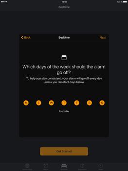 Apple iPad Mini 3 iOS 10 - iOS features - Bedtime Option - Step 6