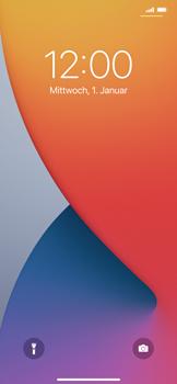 Apple iPhone 11 Pro Max - iOS 14 - Gerät - Einen Soft-Reset durchführen - Schritt 4