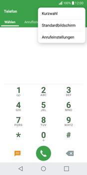 LG Q6 - Anrufe - Rufumleitungen setzen und löschen - Schritt 4