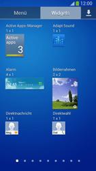 Samsung Galaxy S 4 Active - Startanleitung - Installieren von Widgets und Apps auf der Startseite - Schritt 7