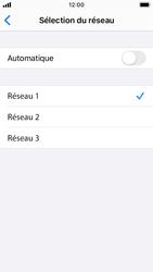 Apple iPhone SE - iOS 13 - Réseau - Sélection manuelle du réseau - Étape 7