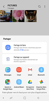 Samsung Galaxy J6 - Photos, vidéos, musique - Envoyer une photo via Bluetooth - Étape 11