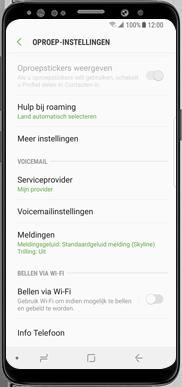 Samsung Galaxy J7 (2017) - Bellen - bellen via wifi (VoWifi) - Stap 6