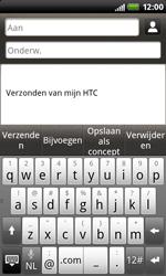 HTC S510b Rhyme - E-mail - hoe te versturen - Stap 5