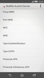 Sony Xperia Z2 - Internet et roaming de données - Configuration manuelle - Étape 14