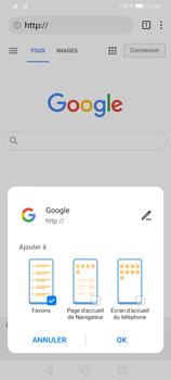 Huawei Y6P - Internet et connexion - Naviguer sur internet - Étape 9