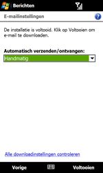 HTC T7373 Touch Pro II - e-mail - handmatig instellen - stap 14