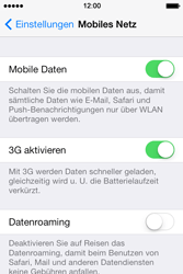 Apple iPhone 4 S - Ausland - Auslandskosten vermeiden - 0 / 0